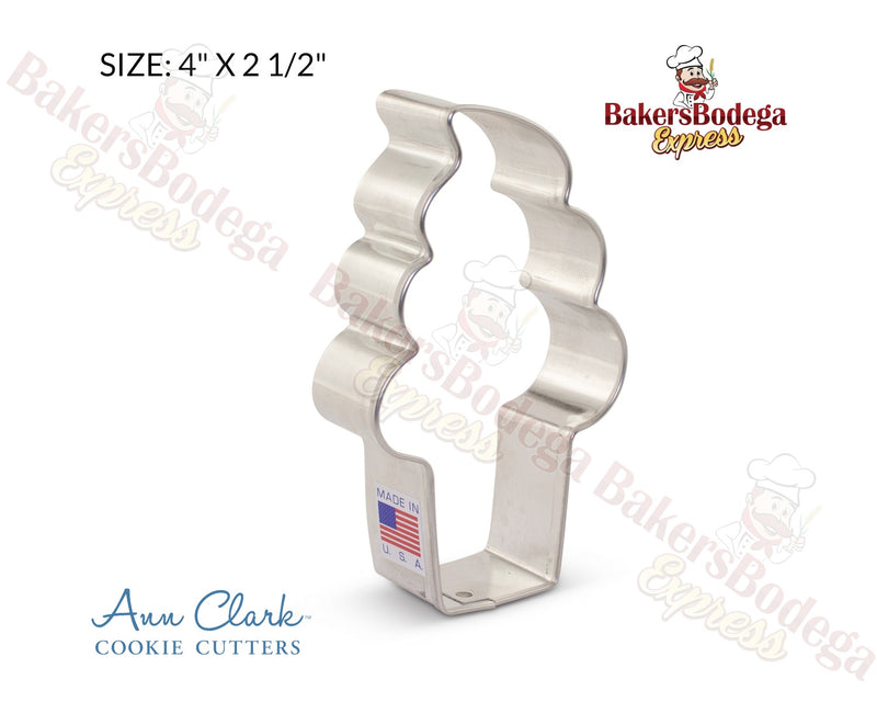 Soft Serve Ice Cream Cookie Cutter