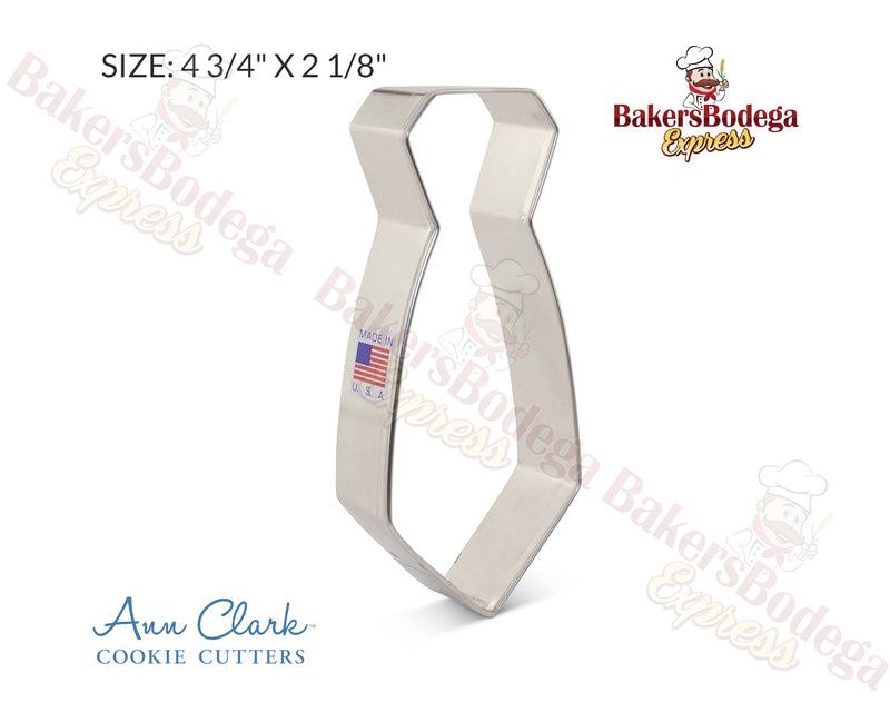 Neck Tie Cookie Cutter