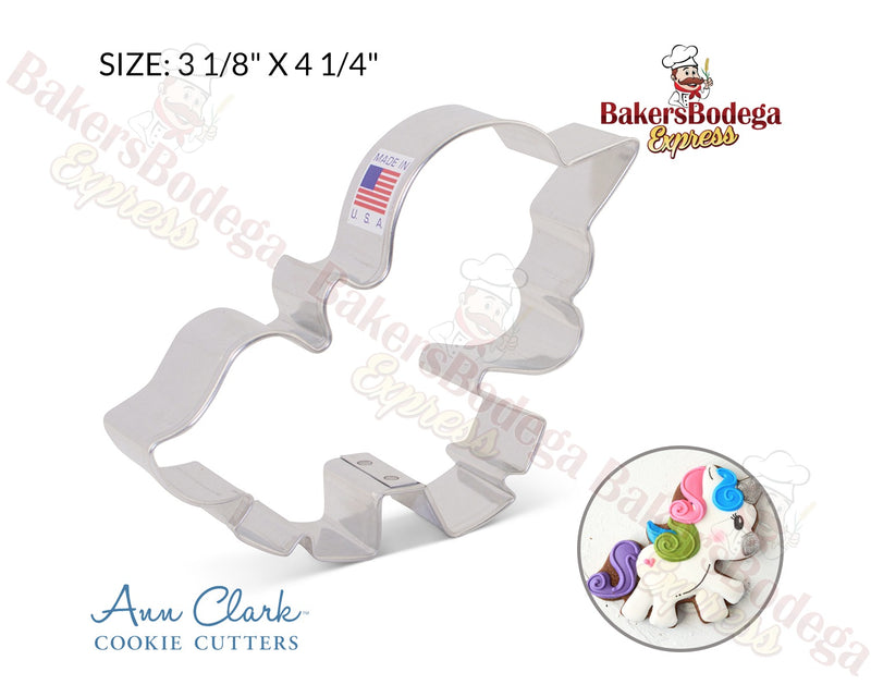 Cute Unicorn Cookie Cutter