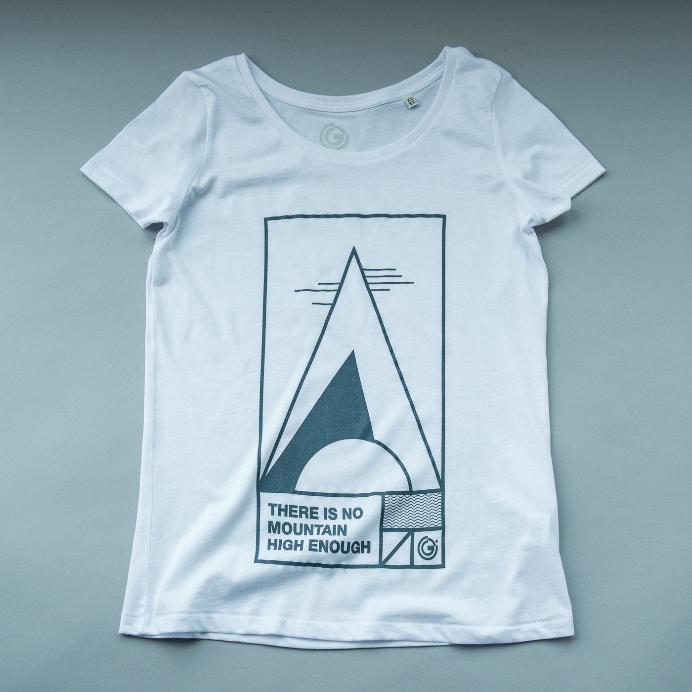 There is no mountain high enough, Womens Organic Tee from OFFGRID Clothing