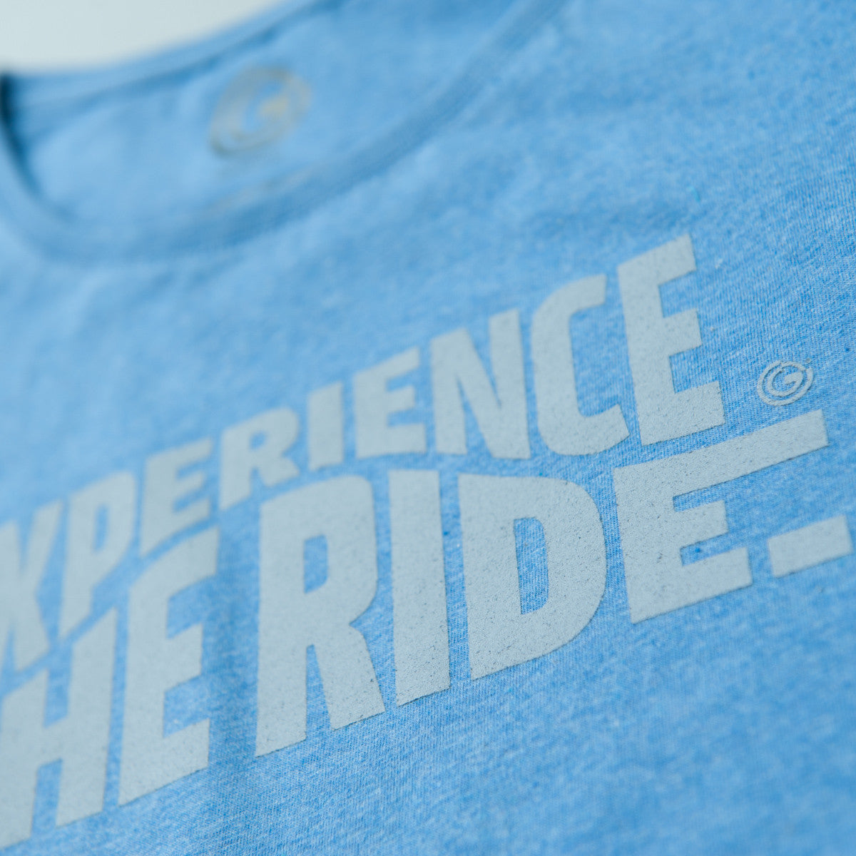 Experience The Ride (Mid Heather Blue) - Womens
