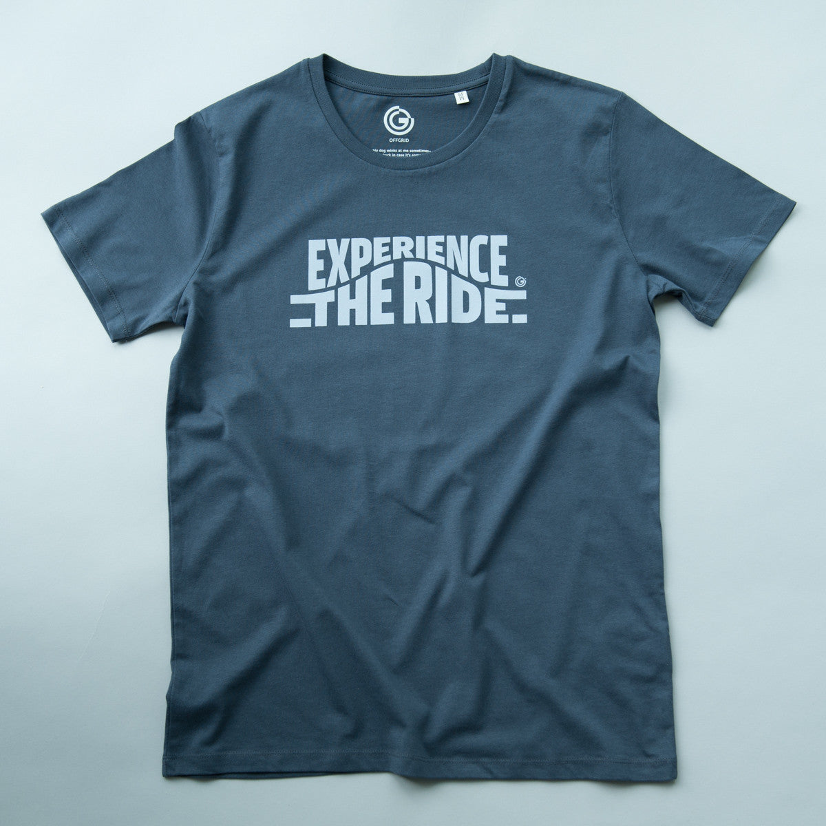 Experience The Ride (India Ink Grey) - Mens