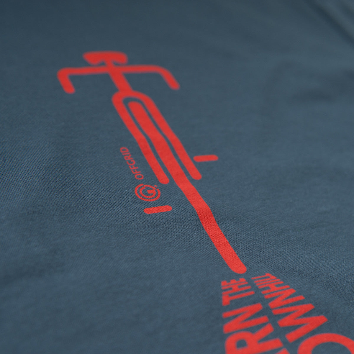 Earn The Downhill by OFFGRID Clothing