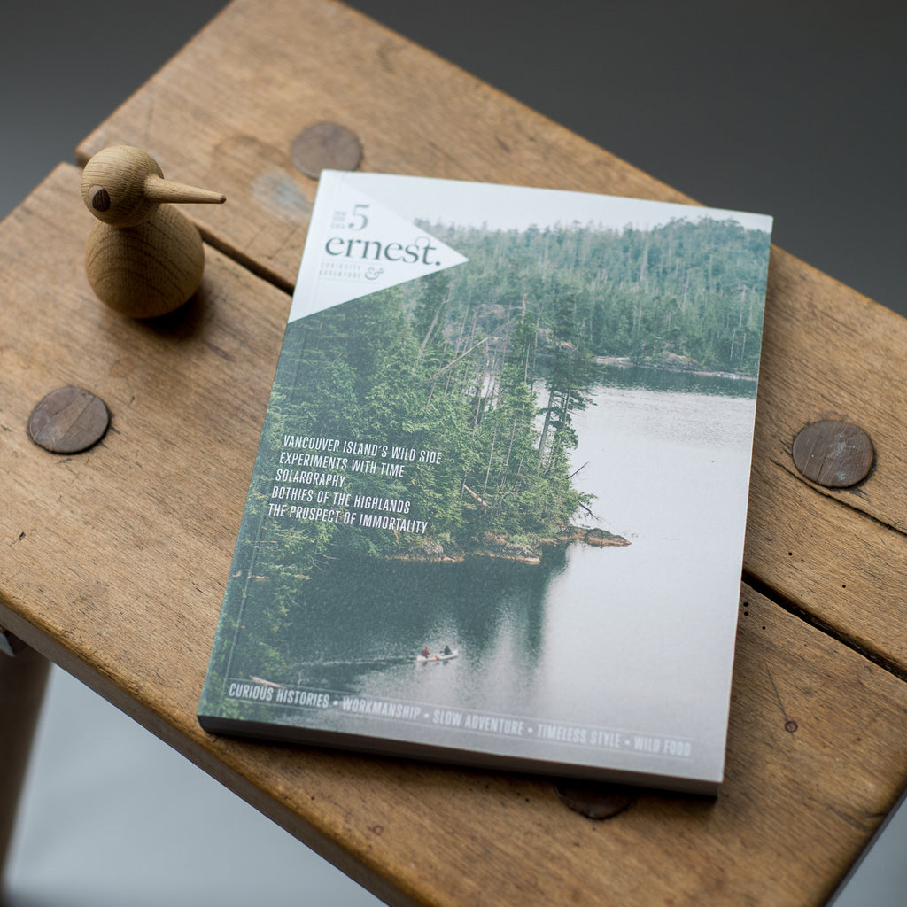 Ernest Journal Issue 5 - OFFGRID Clothing