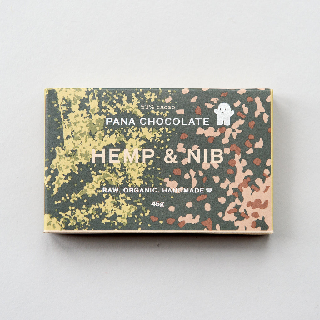 Hemp & Nib Chocolate Bar