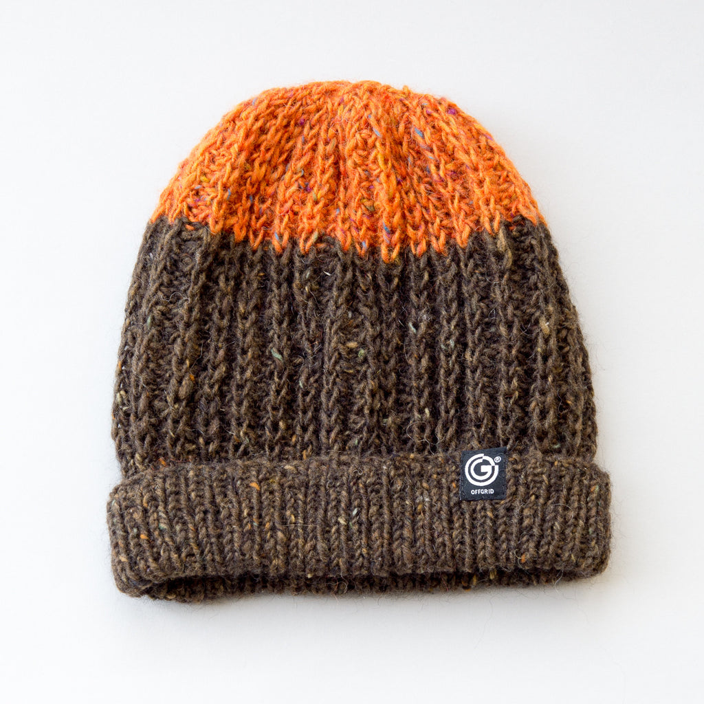 Fisherman Hat - Sea Buckthorn & Chestnut