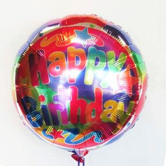 Happy Birthday Helium Balloon