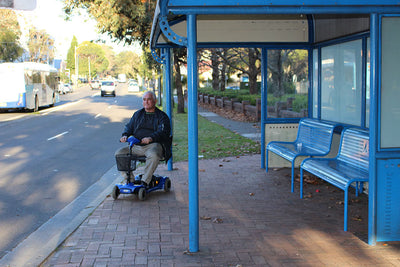 Using a Mobility Scooter or Electric Powerchair in Victoria