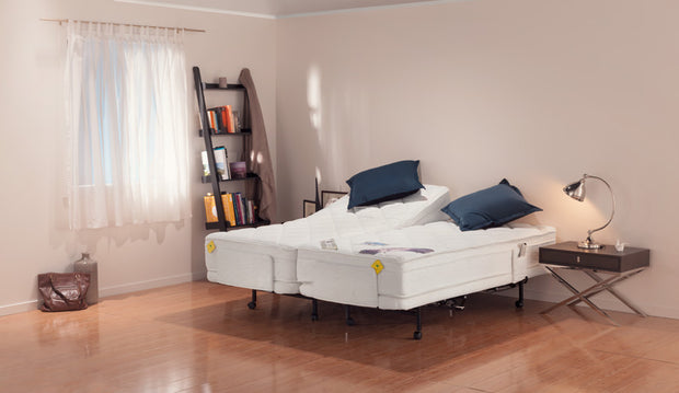 Adjustable Electric Bed Two Single Beds
