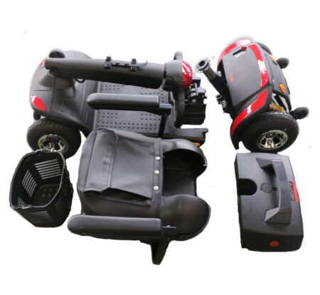 Top Gun Scooter Bandit Available in Blue, Grey, Red or White
