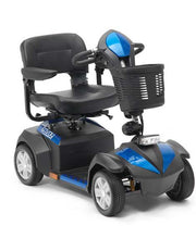 Electric Mobility Scooter Compact Black Blue