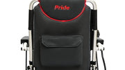 Pride Mobility Australia Dark Grey Red Chair Back Pocket