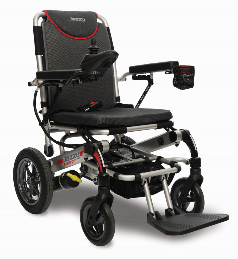 Pride Mobility Australia Dark Grey Red Chair