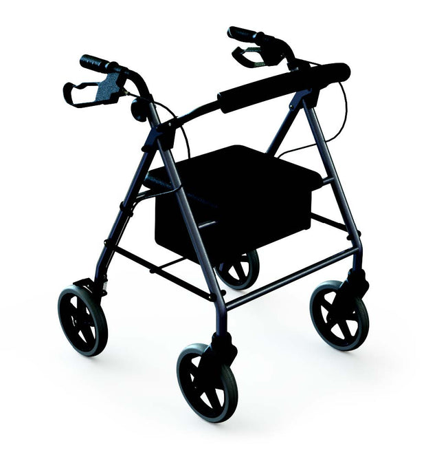 Mobility Walkers Dark Red Wheelchair