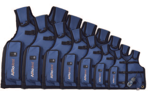 Afflovest Multiple Vests In Ascending Sizes