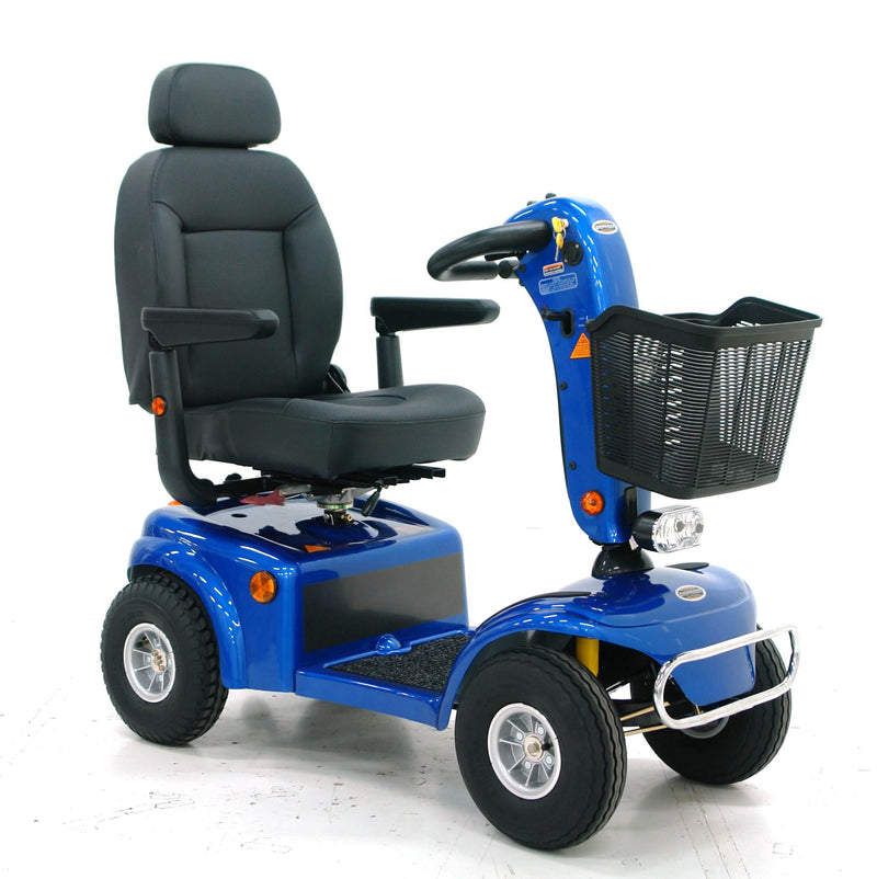 Shoprider AllRounder Scooter Available in in Blue & Red