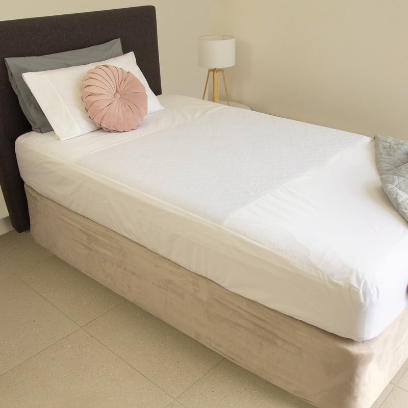 Conni Fitted Bed Pad Sheet (Single)