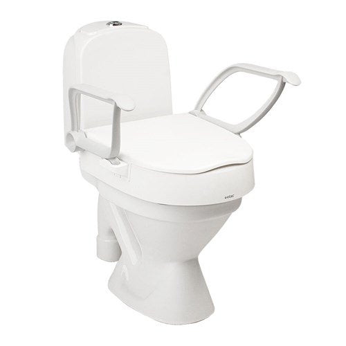 Etac Cloo Toilet Seat Raiser with Arm Supports
