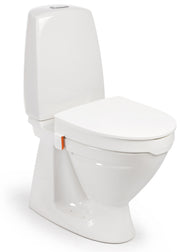 Etac My-Loo Toilet Seat Raiser with Lid and Brackets, 10cm