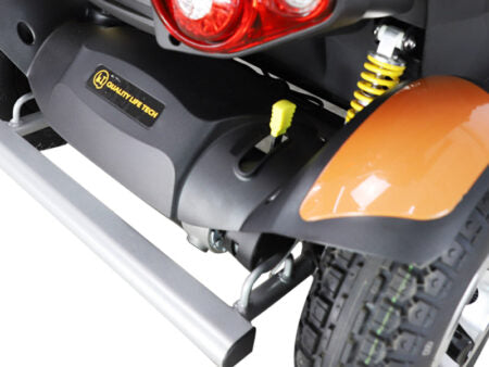 Top Gun Scooter Everest Color Available in Orange or Silver