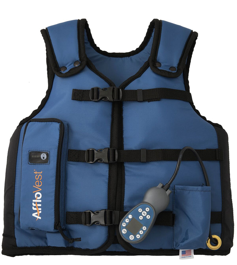 Oxygen Concentrators Blue Vest With Straps