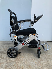 Pride iGo Portable Folding Powerchair side view