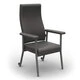 Redgum Katie High Back Chair Grey RG630gr