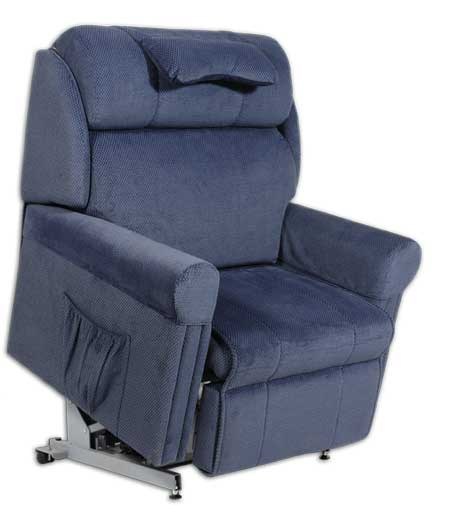 Electric Lift Chairs For The Elderly Navy One Seater