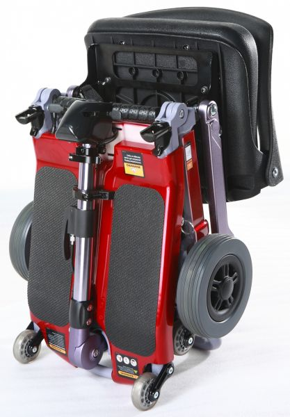 Luggie Freerider Eco Folding Scooter - Red