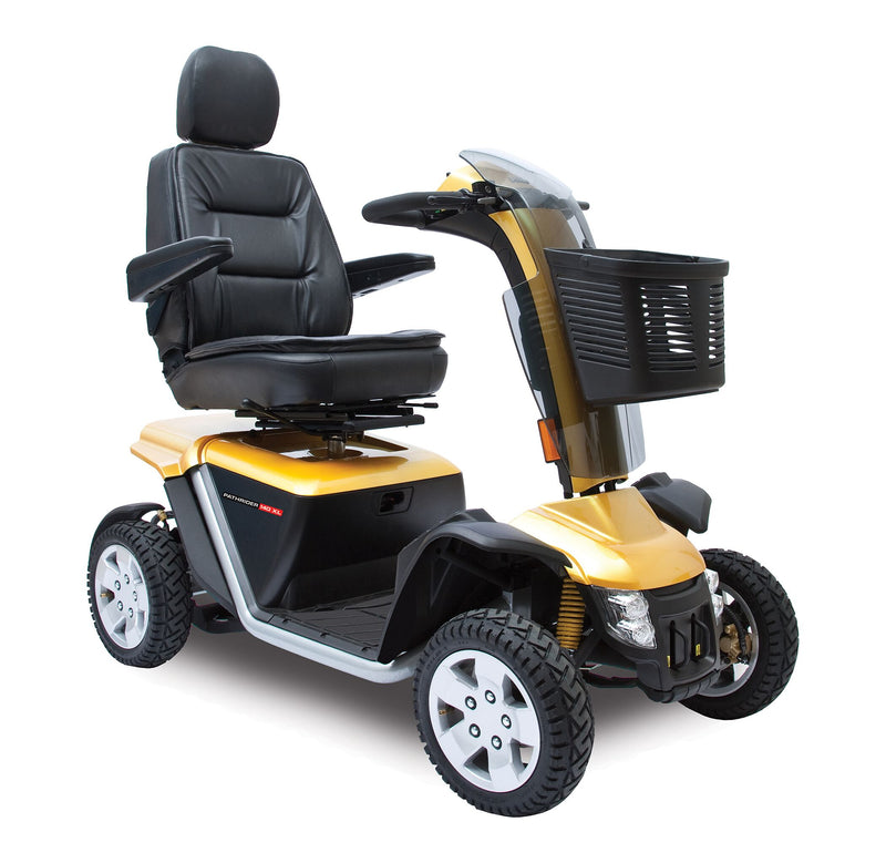 Pride Mobility Australia Black Gold Scooter