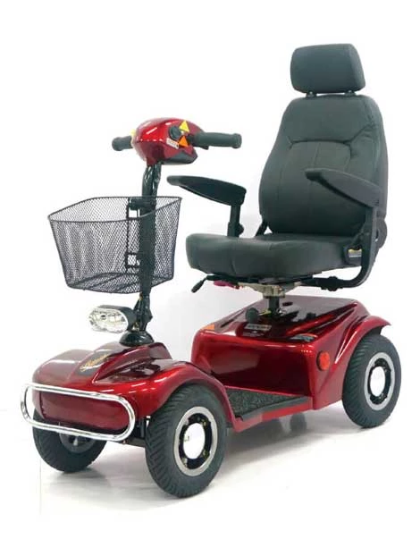 Shoprider 388EM Freedom Scooter avail in Red or Blue