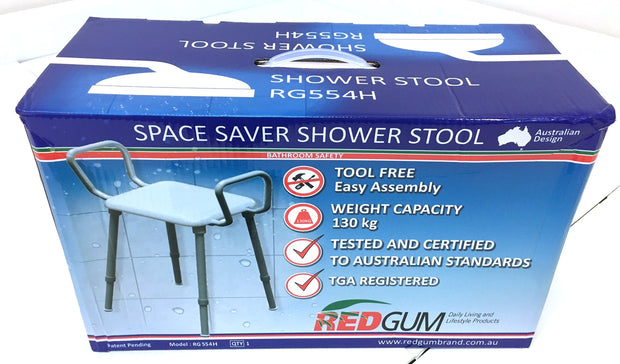 Space Saver Shower Stool RG554H