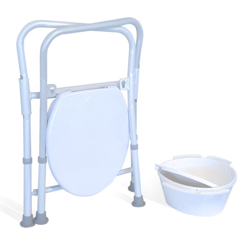 Folding Toilet Seat Raiser (Including Lid & Bowl) RG8560