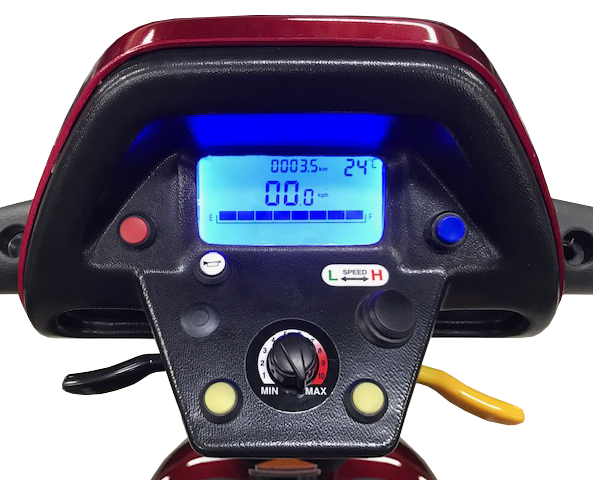 Shoprider Rocky 8 Scooter Available in Blue or Red