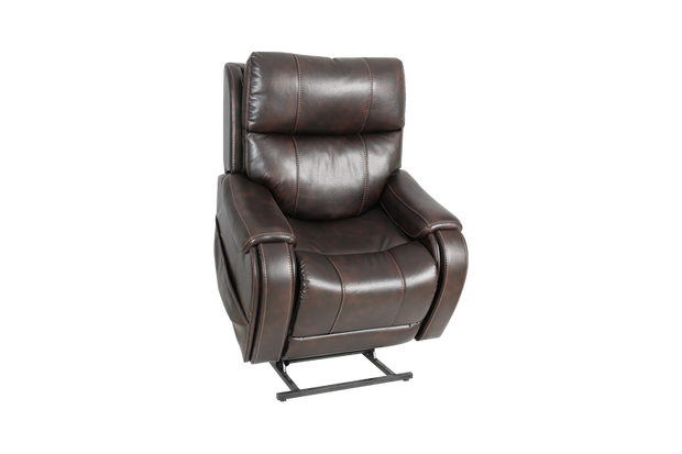 Pride Mobility Australia Padded Brown Recliner front view