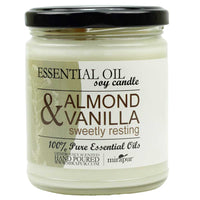 Aromatherapy Soy Candle-Almond and Vanilla