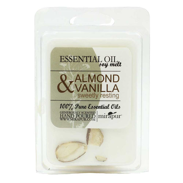 Aromatherapy Soy Melt-6 Cube Pack-Almond and Vanilla