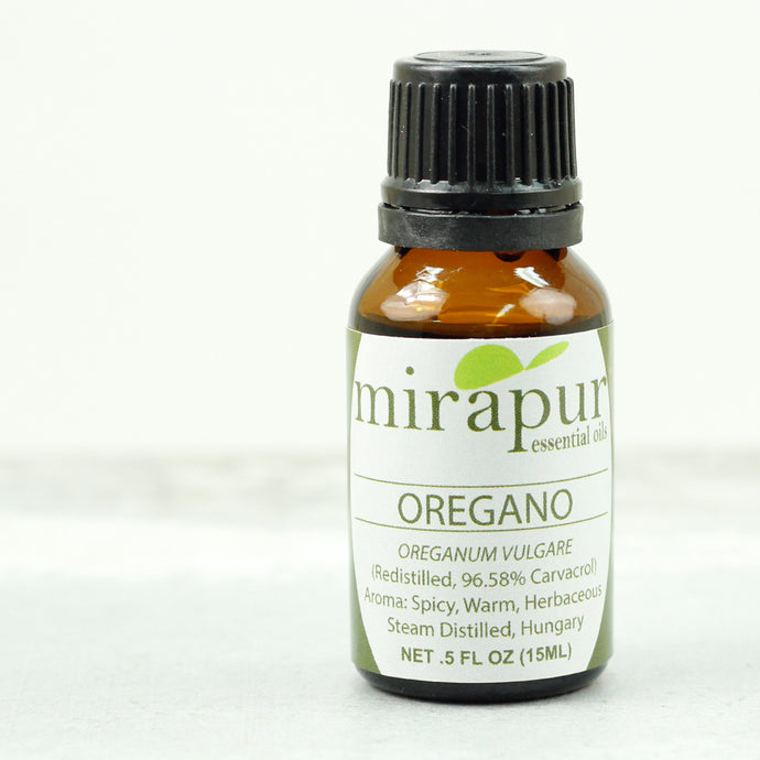 re distilled Oregano by Mirapur Essential and Body Oils