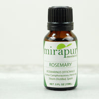 Essential Oil for Memory, Mirapur Rosemary Essential and Body Oils