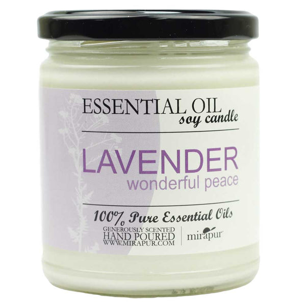 Aromatherapy Soy Candle-Lavender