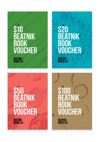 All four vouchers on one page. $10, $20, $50, $100