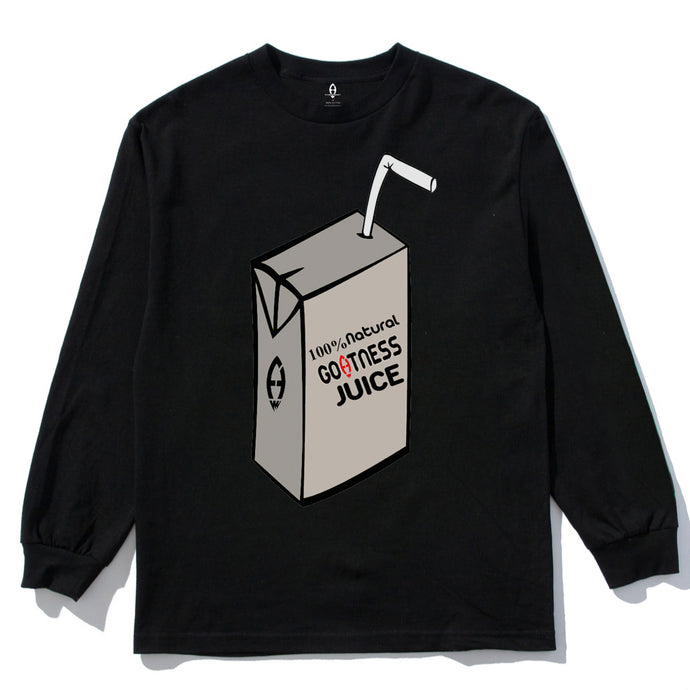 GOATNESS® Juice Box Long Sleeve Tee
