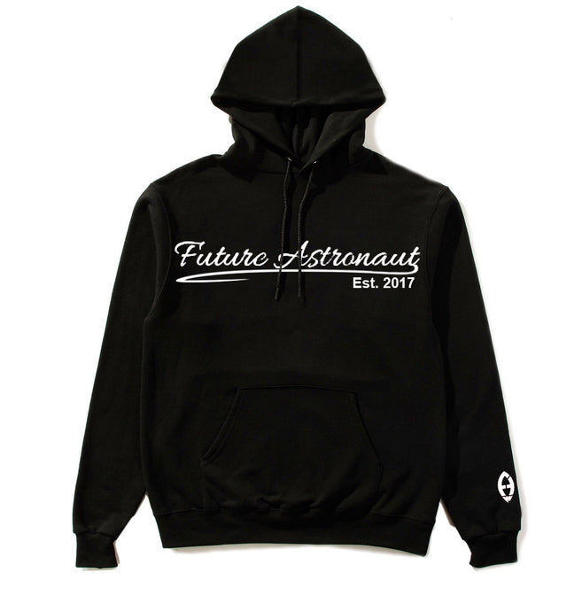 Future Astronaut™ Year Established Script Font HOODIE