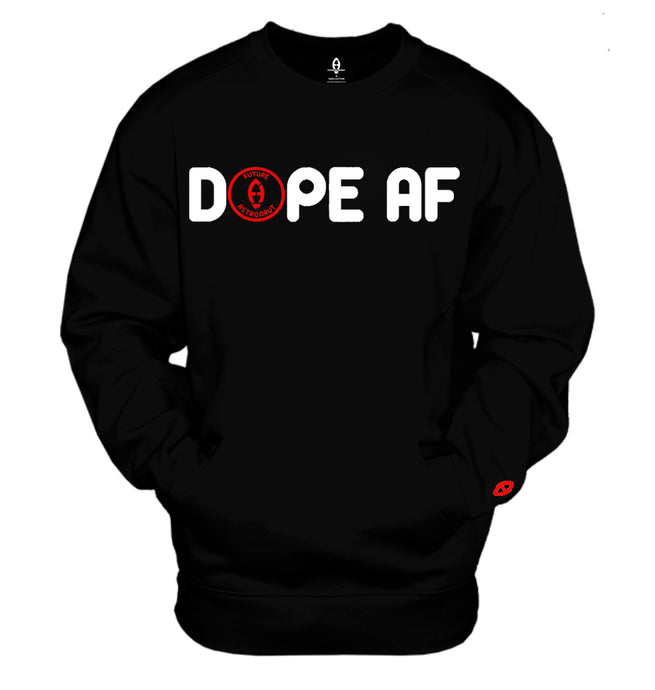 Future Astronaut™ DOPE AF Front Pouch Pocket Sweat Shirt