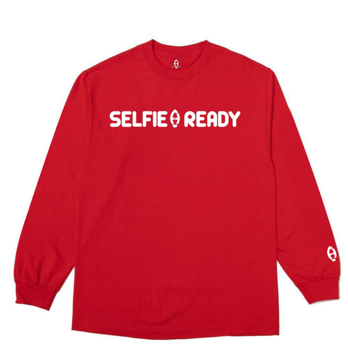 Future Astronaut™ Selfie Ready Long Sleeve Tee
