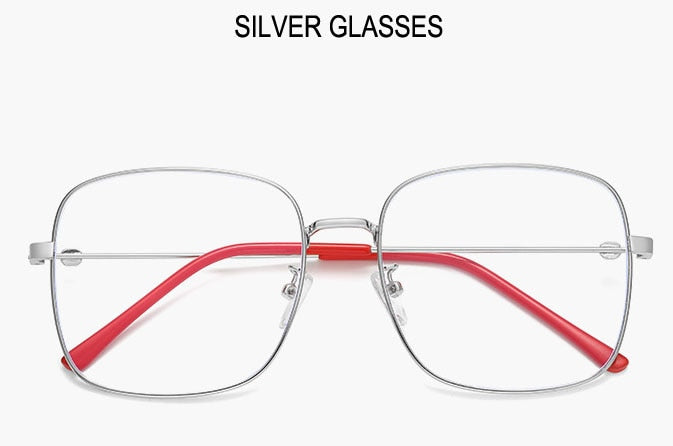 COOMBS Silver Frame - Men's Blue Light Glasses Collection '19/20 (WTYJ144 SILVER)