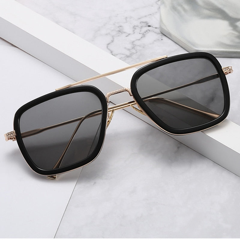ADONNIS - Men's Square Sunglasses Collection '19/20