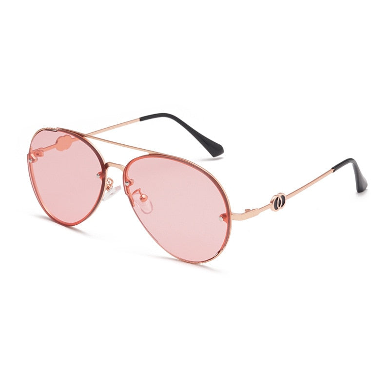 PRIESTESS (Pink Kisses) - Women's Aviator Sunglasses Collection '19/20