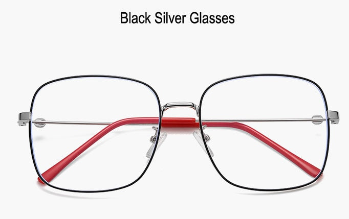 COOMBS Black Frame - Men's Blue Light Glasses Collection '19/20 (WTYJ144 BlackSilver)