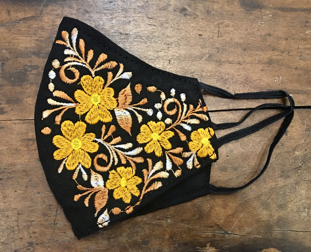 MASK - Embroidered Cotton Mask